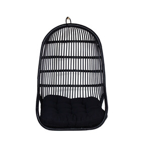 Palm Hanging Chair - Synthetic Black - Pre-Order